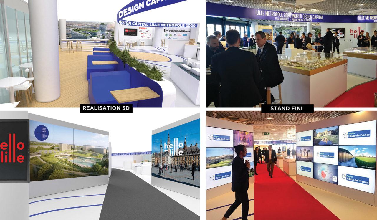 Stands, salons, expositions et régie événementielle